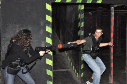 Tenue Laser Game