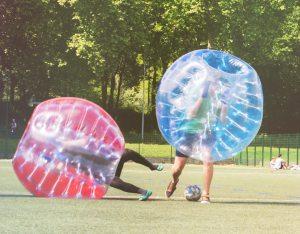 Bubble foot foot activité insolite Lille