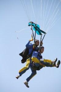 Parachute EVG au Pays basque