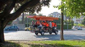 Beer Bike - Activité insolite à Porto