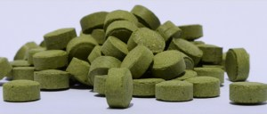 Organic Moringa tablets made at Cambodia.
