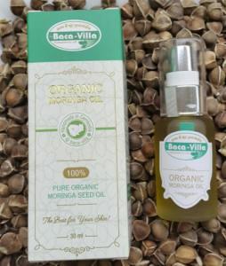 Moringa Oleifera Oil 100% Pure organic Moringa seed oil from seeds from Cambodia.