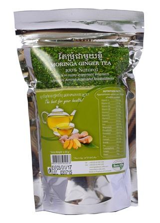 Organic Moringa - Ginger