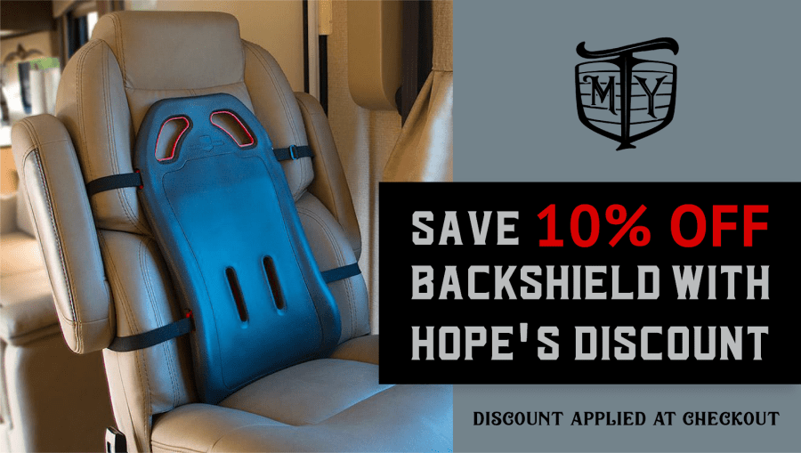 10% Off BackShield with Hope's Discount
