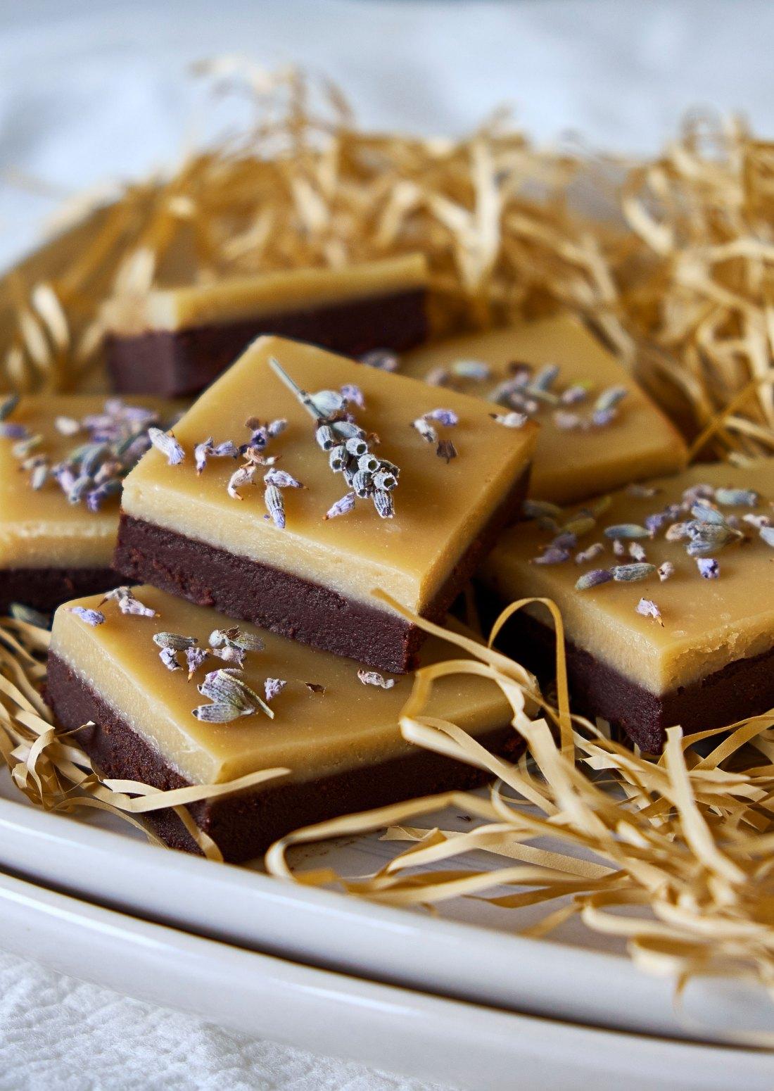 Chocolate Lavender Fudge 3