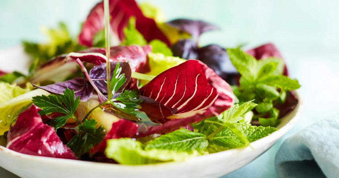 Hemp Oil Salad