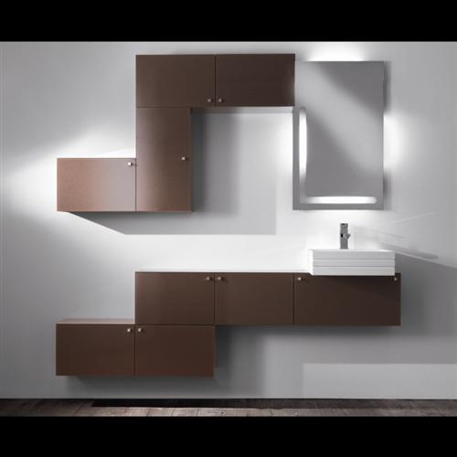 3 COGLIATI-collezione SNAKE e lavabo SCRATCH