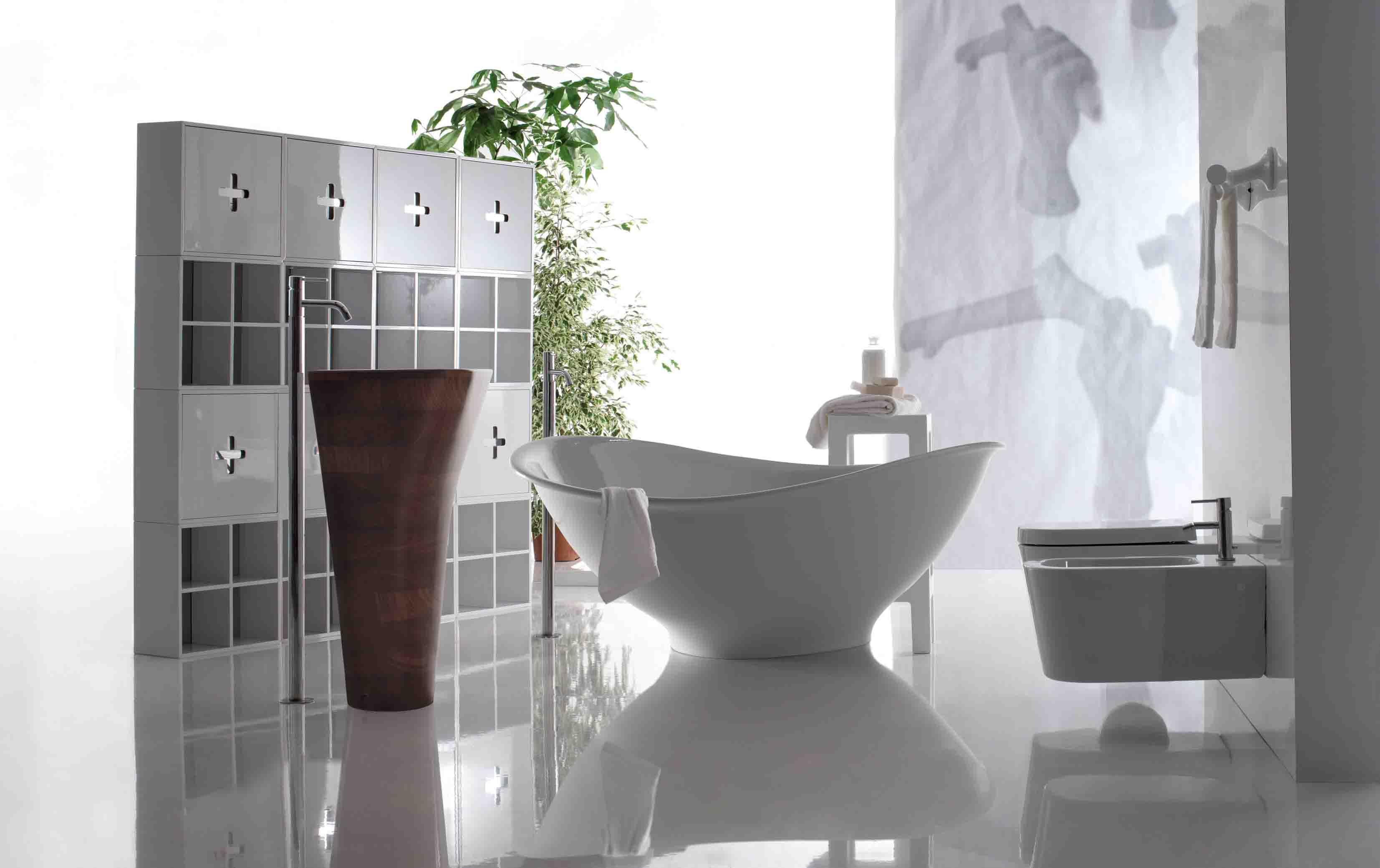 Meg 11 la vasca eco di ceramica galassia bagno italiano blog - Vasca da bagno ceramica ...