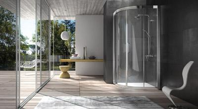 Nuova collezione di box doccia in alluminio firmata blubleu