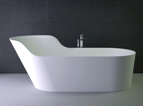 GLOW Bathtub Asymmetrical L