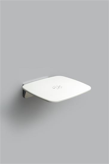 PROVEX_Serie 300_Sedile ribaltabile bianco_aperto