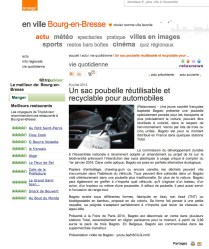"Article presse ""Bourg-en-Bresse"" - Orange"