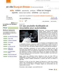 "Article presse ""Bourg-en-Bresse"" - Orange"