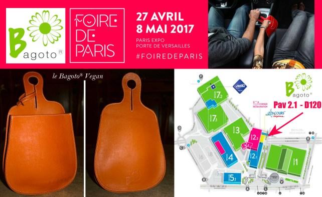 Bagoto, à la Foire de Paris 2017