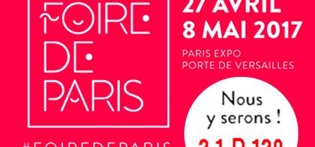 Bagoto® à la Foire de Paris, du 27 avril au 8 mai 2017