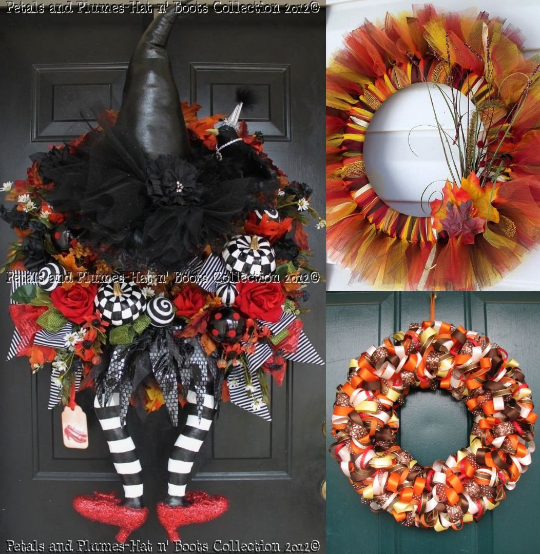 Types of Fall wreaths