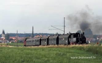 BLV 70 083 und E 69 05 Dachau-Altomünster (Markt Indersdorf)