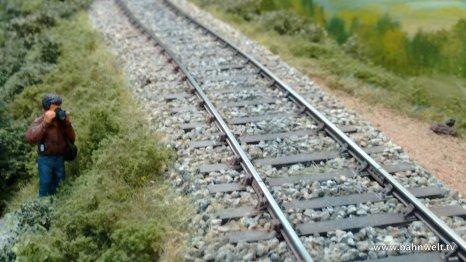 Die Bahnlinie ist bei Eisenbahnfreunden wegen Ihrer zahlreichen Kunstbauten beliebt. Einige hat Jean-François Lavrut auf seiner 0-Anlage nachbilden können.