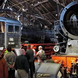 Die Teilnehmer erhielten eine geführte Museumsbesichtigung.