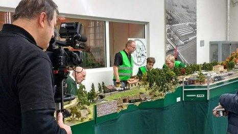 Der Modelleisenbahnverein Landsberg am Lech e.V. präsentierte seine große H0-Anlage