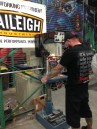 Austin Weiss Uses Baileigh Drill Press