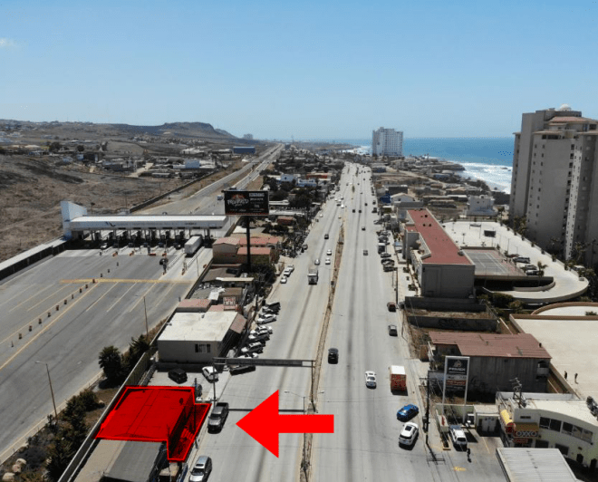 Commercial Lot For Sale in South Rosarito, Playas de Rosarito