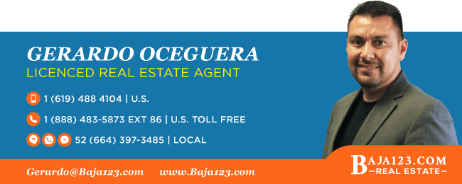 Gerardo Oceguera - Rosarito Beach Real Estate Agent