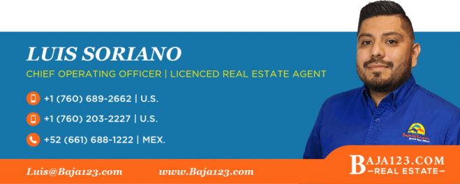 Luis Soriano Rosarito Beach Real Estate Agent