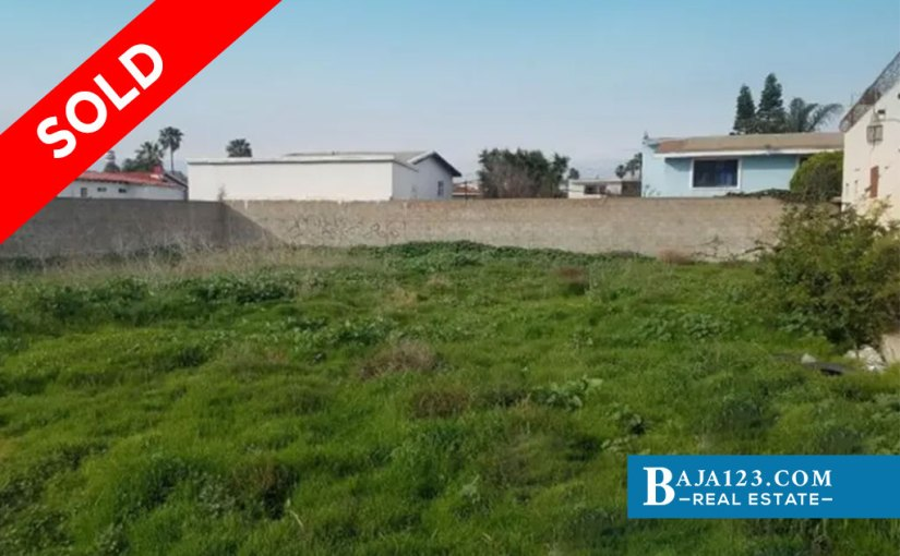 SOLD – Lot For Sale in Del Mar Pacifico, Playas de Rosarito – $137,500 USD