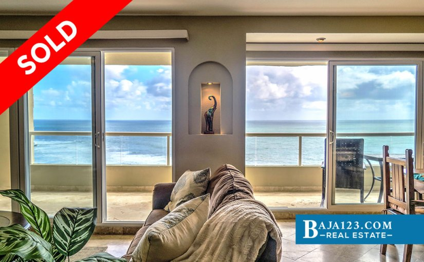SOLD – Oceanfront Condo For Sale in La Jolla del Mar, Playas de Rosarito – $279,000 USD