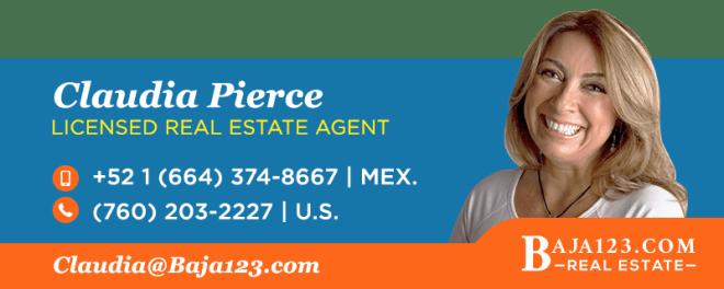 Claudia Pierce, Rosarito Beach Real Estate Agent