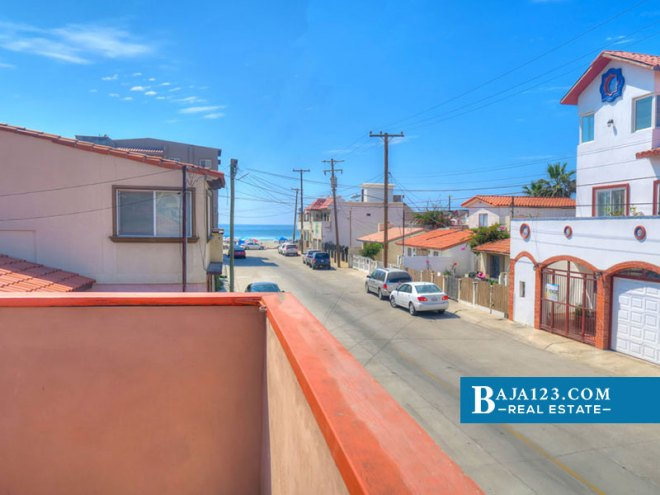 Ocean View Home For Sale in Playas de Rosarito
