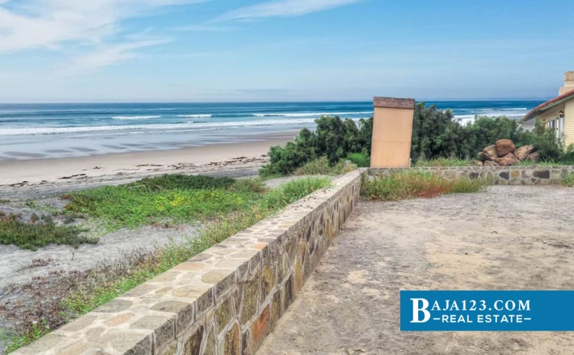EXPIRED – Oceanfront Lot For Sale in La Mision, Ensenada – $434,000 USD