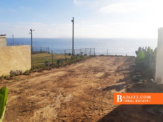 Oceanfront Lot For Sale in Punta Bandera, Tijuana