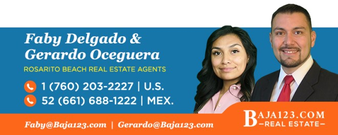 Faby & Gerardo - Rosarito Beach Real Estate Agents