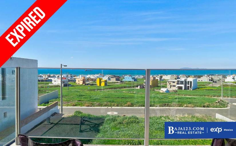 EXPIRED – Ocean View Home For Sale in Punta Azul, Playas de Rosarito – $199,000 USD