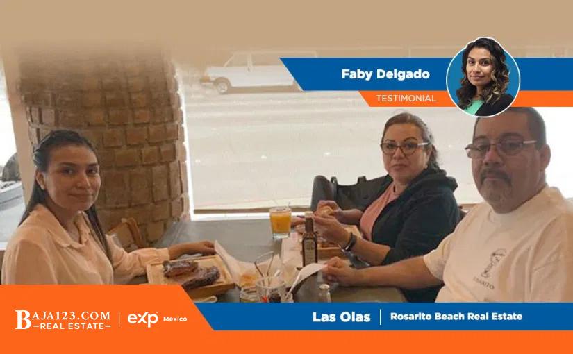 Faby Delgado's Client Experience – Las Olas, Rosarito Beach