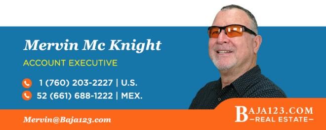 Mervin McKnight - Rosarito Beach Real Estate Agent