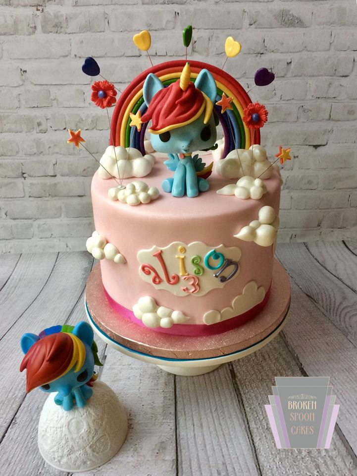 13 Unicorn Cake Designs To Bring Magic To Your Day