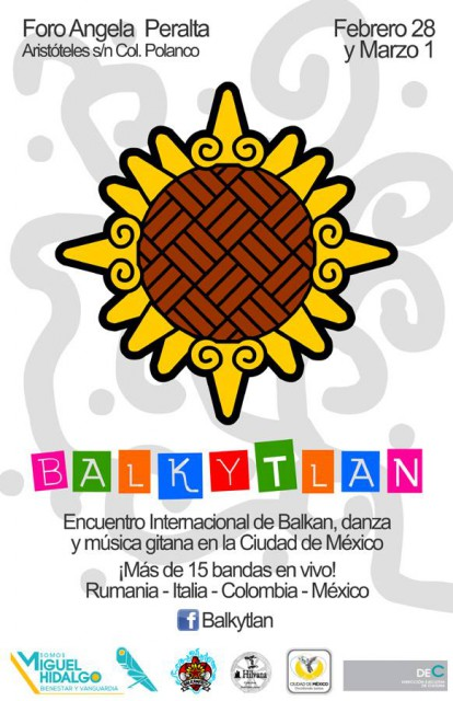 The First Gypsy and Balkan Music Festival will take place in Mexico City