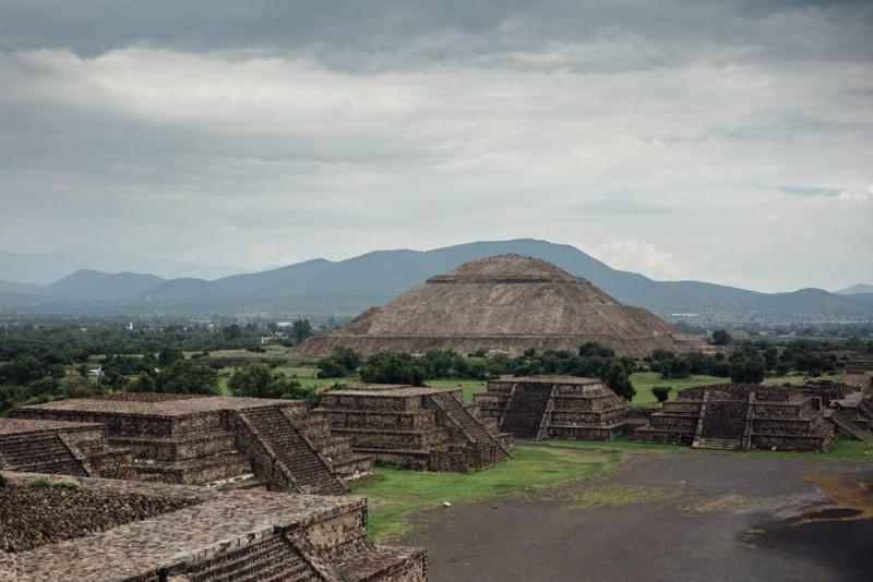 Moon temple, Mexico