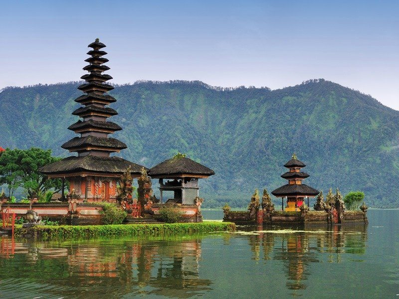 temples on the water