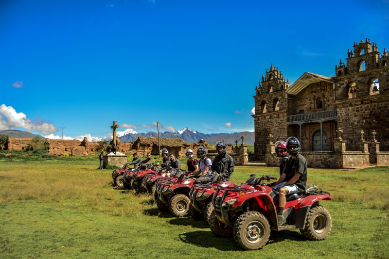 Cuzco is one of the busiest cities in Peru