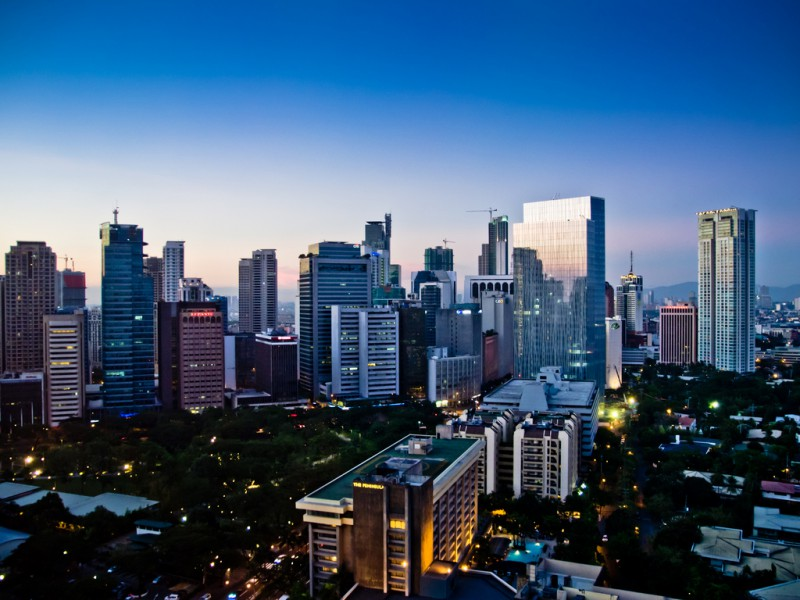 fun facts about the philippines: skyline over manila