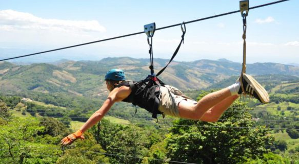 Forget La Poás, Costa Rica has other great adventurous things to do like zip-lining above the forest canopy