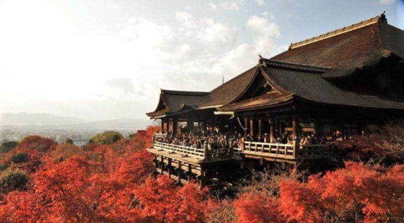 Japan's Kiyomizu-Dera Temple
