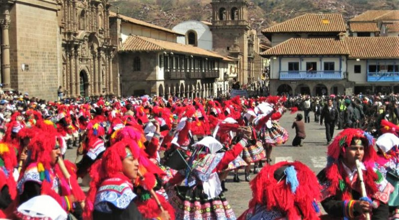 Celebrating the summer solstice in South America