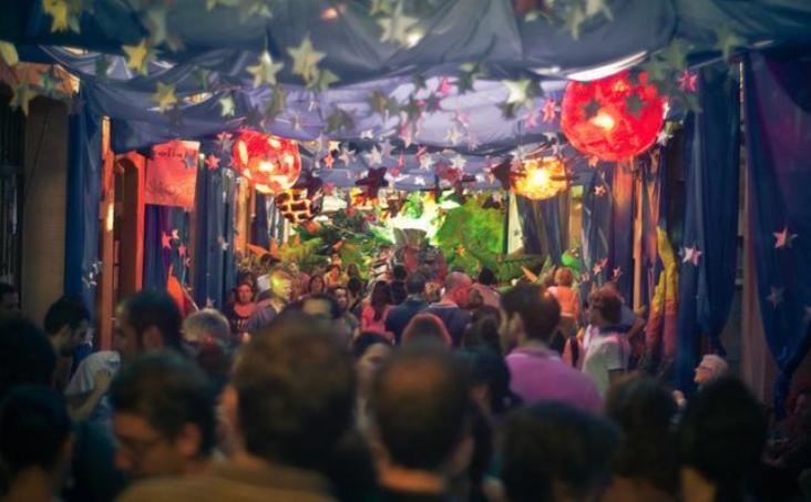 Spanish Fiestas - La Fiesta Major de Gracia in Barcelona