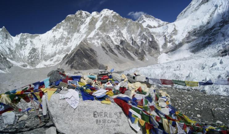 The Everest Base Camp- Climb Mount Everest