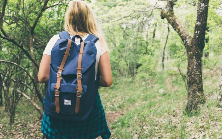 Bring a small Backpack on your travels overseas- Eco-Friendly